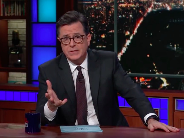 "Stephen Colbert on Mass Shootings: ""If Your Village Had a Tiger Eating People Every Day, You Wouldn't Do Nothing"""