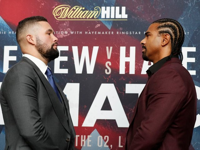 Tony Bellew will be better for the rematch - but so will I, warns David Haye