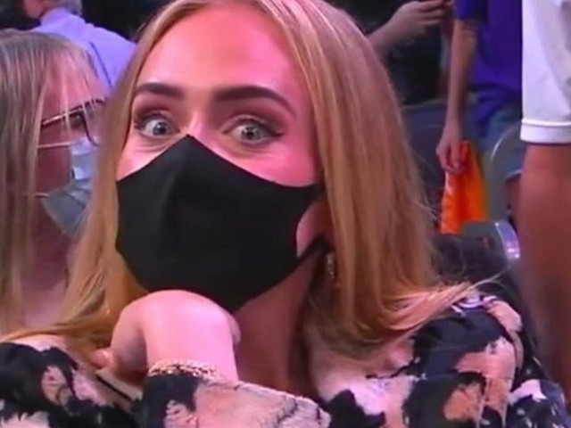 Adele Sparks Romance Rumours As She Breaks Cover To Watch 2021 NBA Finals