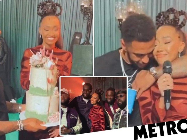 Leigh-Anne Pinnock tearfully vows to 'keep using my voice' in 30th birthday party speech after Jesy Nelson drama: 'You know my character'