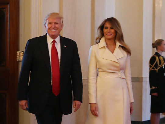 Why Is Melania Trump Wearing a Coat to Decorate the White House Christmas Tree?