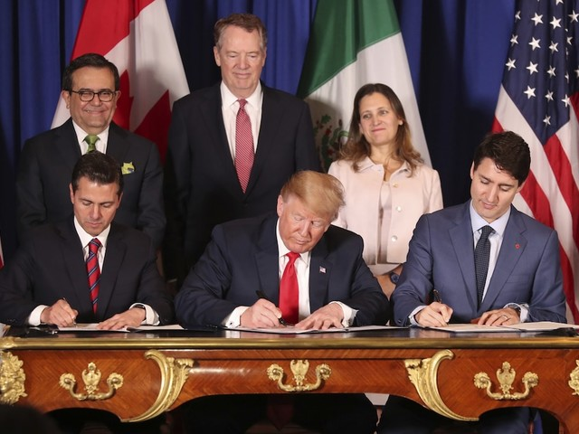 A report on Trump's NAFTA overhaul found that it's not going to do much for the economy