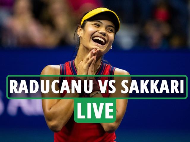 Emma Raducanu vs Maria Sakkari LIVE REACTION: Raducanu into US Open FINAL following incredible straight sets win