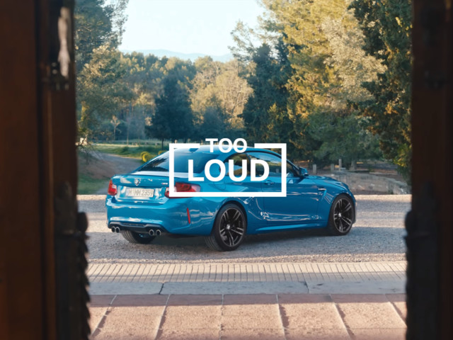 VIDEO: BMW M2 is Too Loud, Crashes Wedding in new ad