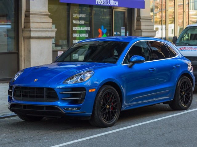 The Macan Turbo is a fire-breathing Porsche sports car in an SUV body
