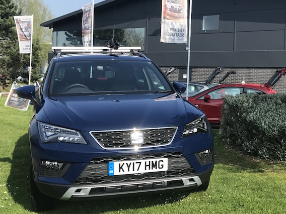 The Seat Ateca leaves behind a lasting impression
