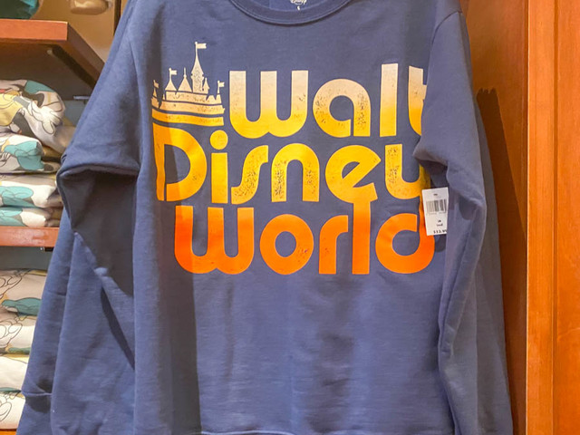 PHOTOS: These NEW Disney Sweatshirts Are Giving Us ALL the Retro Vibes!
