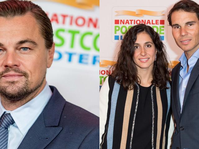 Leonardo DiCaprio Suits Up for Good Money Gala with Rafael Nadal & Girlfriend Xisca Perello!