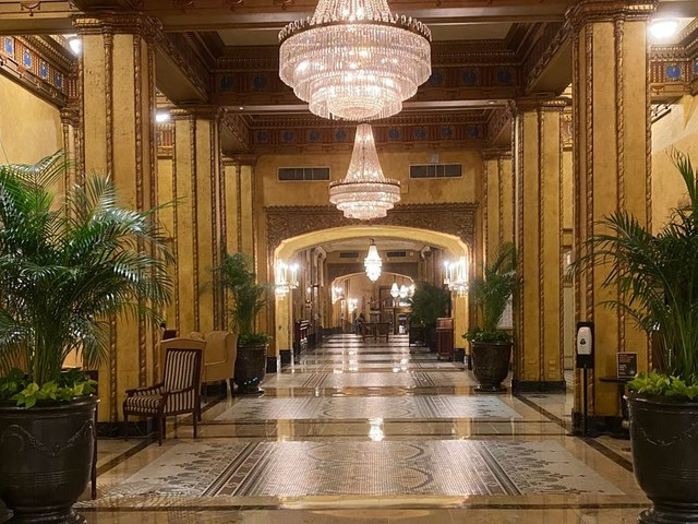 One of the most historic hotels in New Orleans, The Roosevelt is a 5-star stay with strong new COVID protocols in place