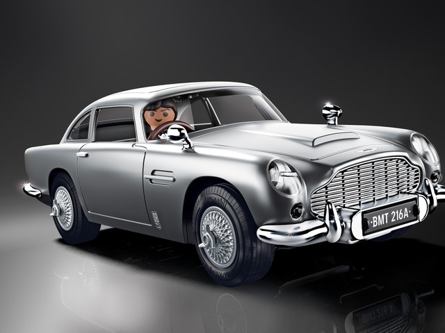 Playmobil DB5, LEGO Batmobile Show Classic and Muscle Cars Have Timeless Appeal
