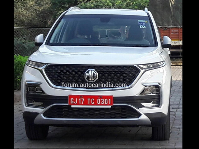MG Hector production to start from April 28, 2019