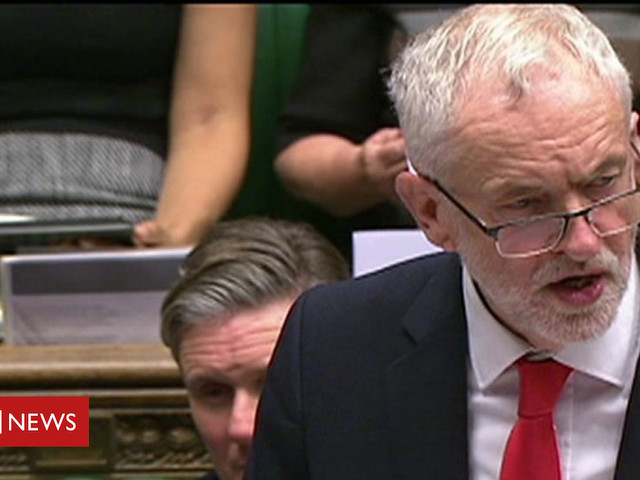 Brexit: Jeremy Corbyn reaction to Theresa May deal update