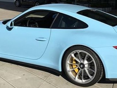 Gulf Blue 2018 Porsche 911 Gt3 Touring Package Is A Sight For Sore