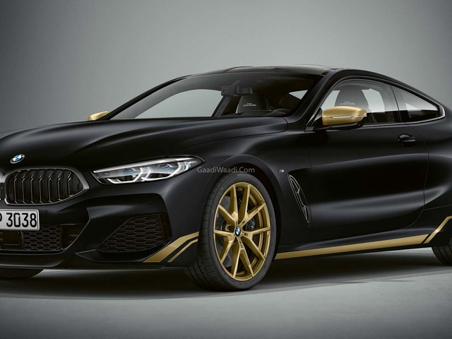 BMW 8 Series Golden Thunder Special Edition Revealed
