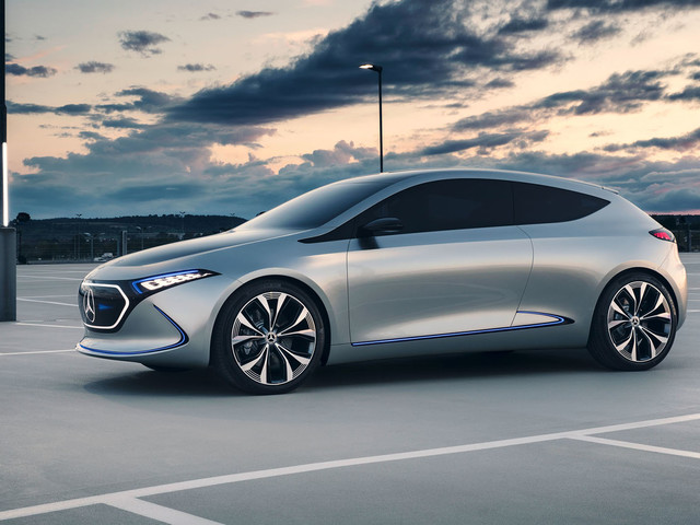 Mercedes EQA: electric hatch to be built at upgraded Smart factory in France