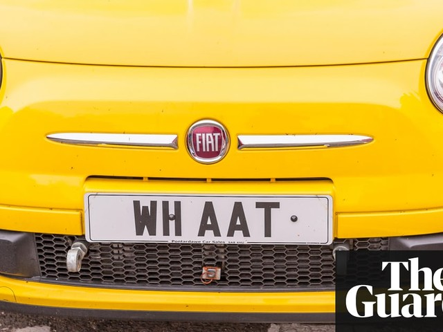 Personalised number plates – what's driving the R1S 1NG trend?