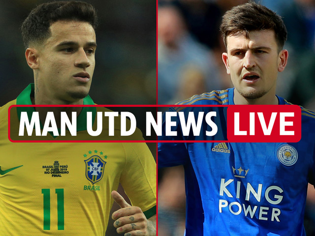 1pm Man Utd transfer news LIVE: £80m Maguire medical TODAY, Coutinho loan blow, Fernandes blow, Lukaku to Inter
