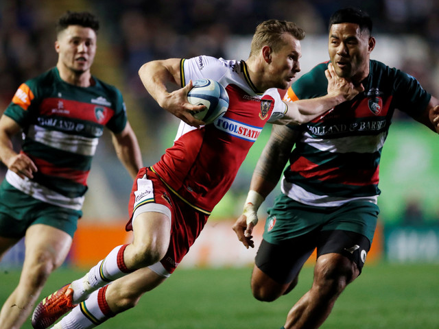 Rory Hutchinson targets World Cup spot as Northampton Saints chase Premiership play-offs