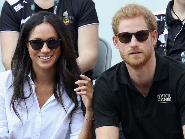 Prince Harry and Meghan Markle enjoy 'Palace tea party with the Queen' - as pair continue to fuel engagement rumours