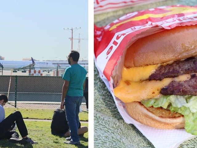 I flew from New York to LA and back in a single day just to eat a cheeseburger and gawk at planes – here's why I'd do it again
