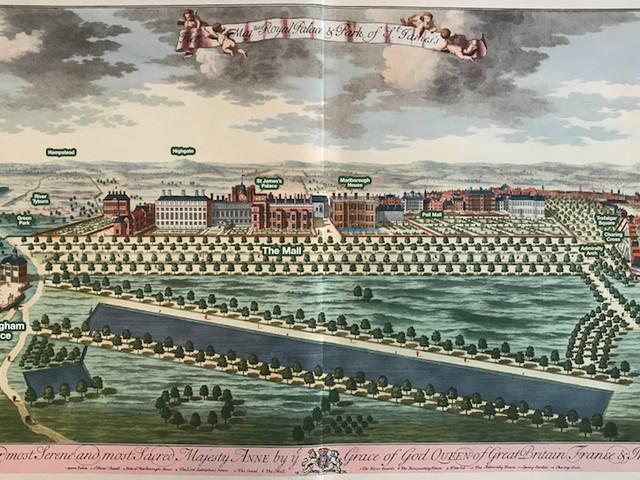 St James's Park, 300 Years Ago