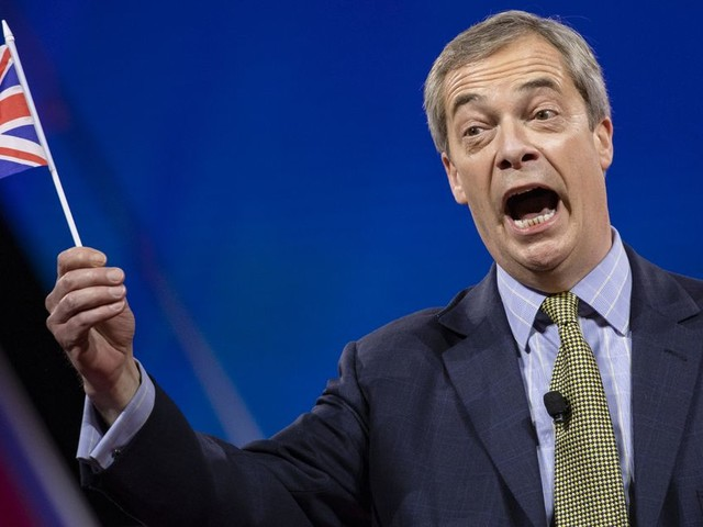 Nigel Farage 'in talks' to take part in Channel 4's Celebrity Hunted