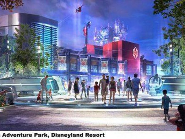 Disneyland's 'Avengers Campus' theme park unveiled at D23: Here's everything we know - CNET