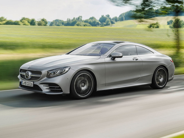 Revised Mercedes-Benz S-Class Coupe and Cabriolet get new V8 and tweaked styling