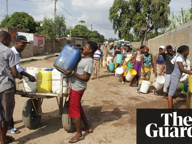 Mozambique prays for rain as water shortages hit country's poor