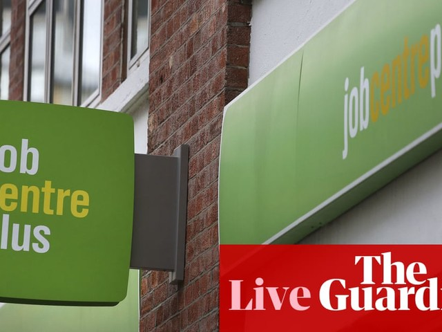 UK unemployment rate falls to 4.7% as payrolls surge nearly 200k – business live
