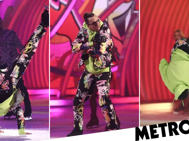 Dancing On Ice's Perri Kiely performs death-defying backflip in landmark move during finale