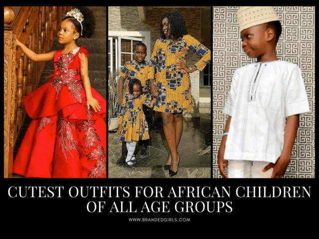African Dress Styles for Kids - 39 African Attire for Babies