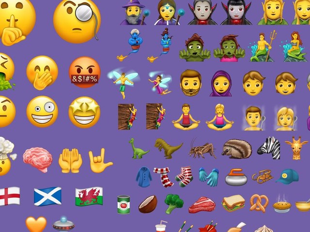 Apple's latest macOS update dropped a ton of new emoji