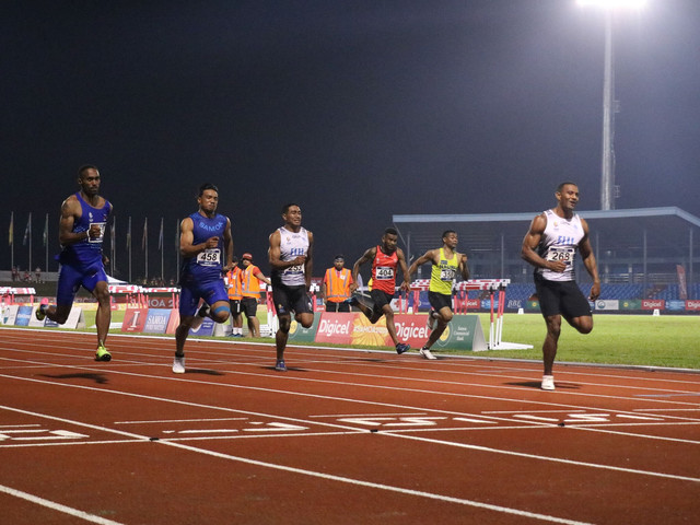 Pacific Games records fall as Tabakaucoro and Wisil claim 100m crowns