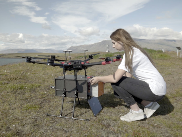 Flytrex launches an autonomous on-demand drone delivery service in Iceland's capital