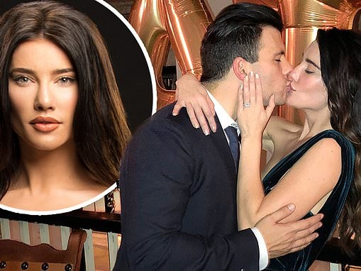 The Bold and the Beautiful's Jacqueline MacInnes Wood welcomes son Rise with husband