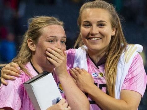Scotland Women: Erin Cuthbert and Fiona Brown miss Euro opener with Cyprus