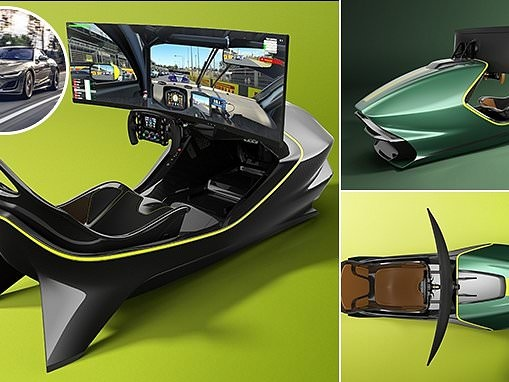Aston Martin releases a £69k driving simulator for e-sports fans