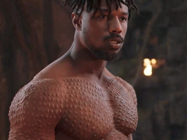 Michael B. Jordan added 15 pounds of muscle after 'Creed' to play the villain in 'Black Panther' — here's how he did it