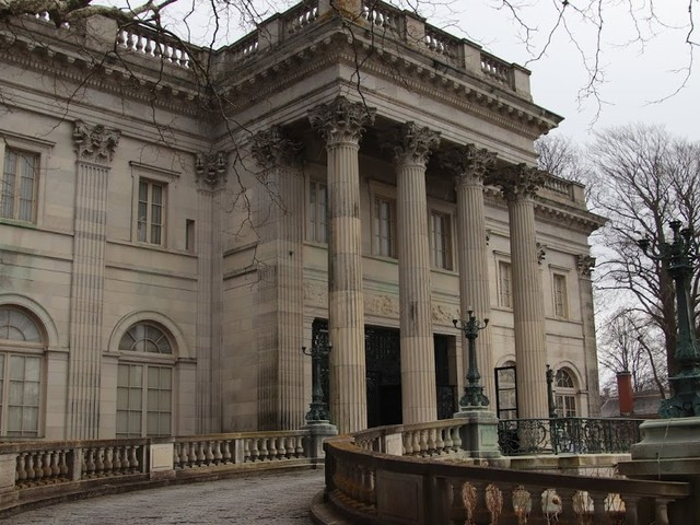 Day 2 Marble House where the Duke of Marlborough proposed to Consuelo Vanderbill