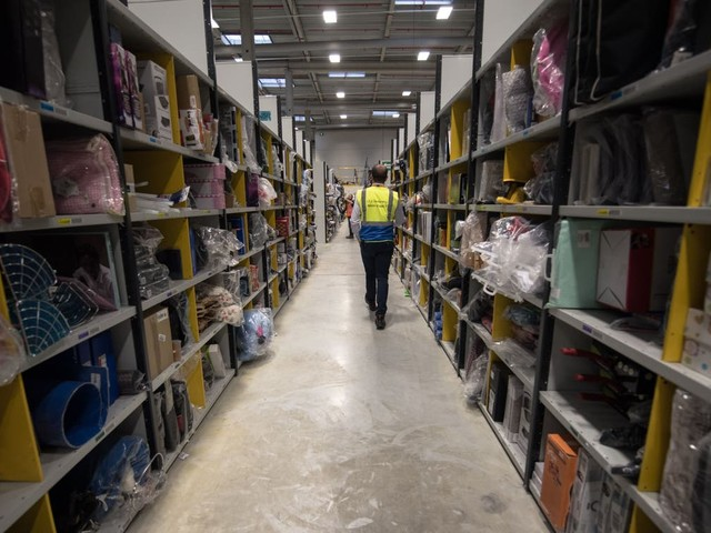 Staff turnover at Amazon warehouses is staggeringly high, according to NYT investigation