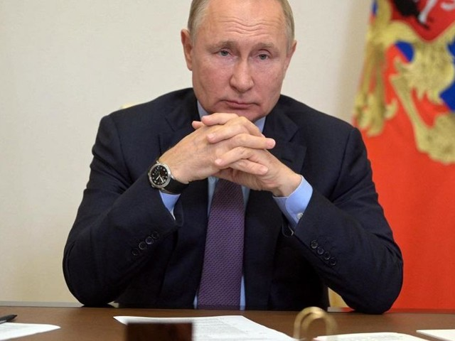 Russia's Putin self-isolating after COVID contact
