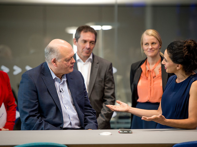 """Ford CEO Jim Hackett: """"We need smart vehicles for a smart world"""""""