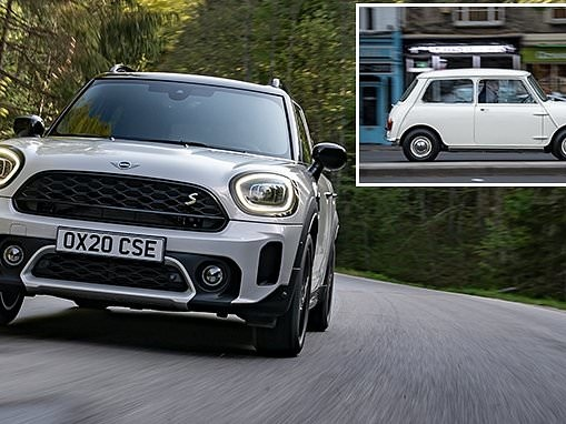 New Mini Countryman revealed - and it would swallow the 1959 original whole