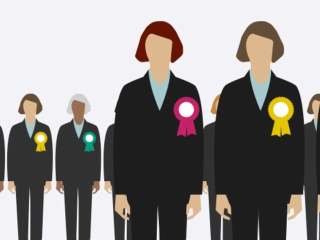 Record number of female MPs