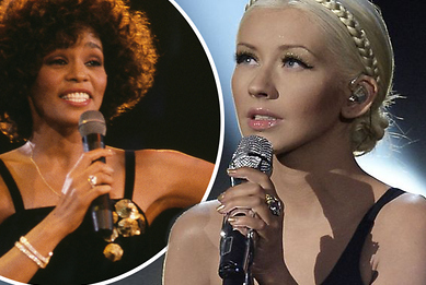 Christina Aguilera Stuns With Whitney Houston Tribute at 2017 American Music Awards: Watch