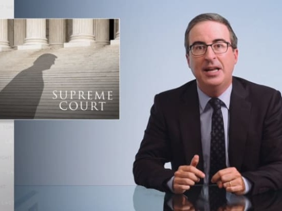 John Oliver on Republican SCOTUS Push: 'It's Not Democracy. It's a F—ing Travesty' (Video)