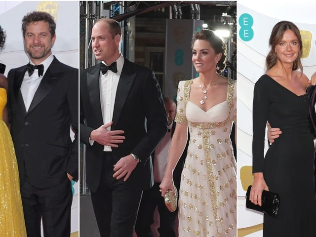 The best-dressed celebrity couples at the 2020 BAFTAs