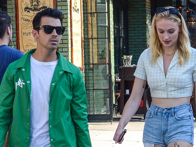 Jonas Brothers Spend a Day Off from Tour in NYC, Sophie Turner Joins Them for Lunch