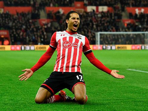 Liverpool land 'honoured' Van Dijk in world record deal for defender